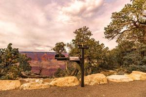 Accessible viewing scope on canyon rim in Grand Canyon National Park