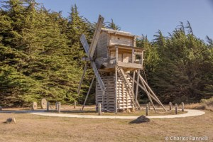 The first windmill in California is located at Fort Ross.