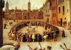 The Execution of Sir Thomas More 1535 by Antoine Caron