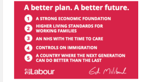 Labour PLedge Card March