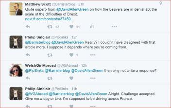 Brexit tweets David Allen Green