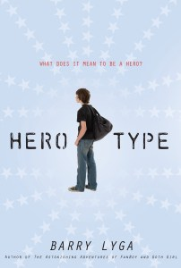 Hero-type hardcover