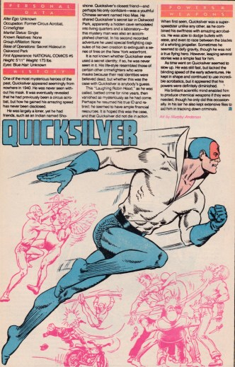 Quicksilver Who's Who page