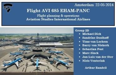 Project 'Flight Planning' (Aviation year 2)