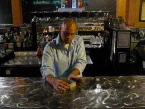 Bar Tricks - Coin on Bill