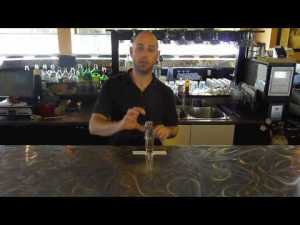 Bar Tricks Tutorial: 3 Shot Water Drop