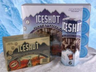 Arctic Ice Shot Glass Molds