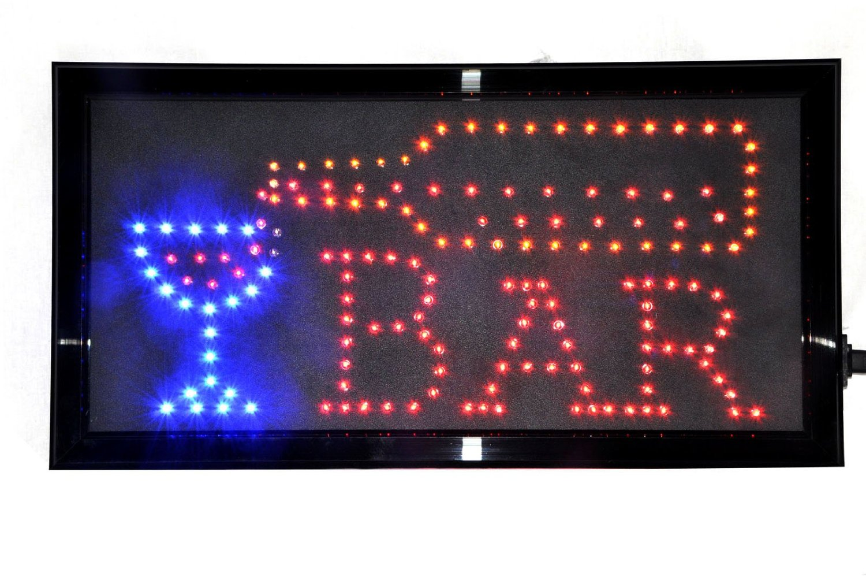 led bar open sign