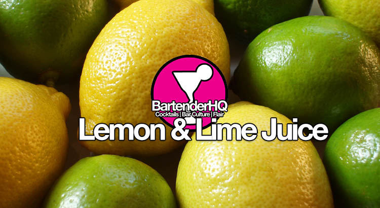 how to cut lemons and limes for drinks