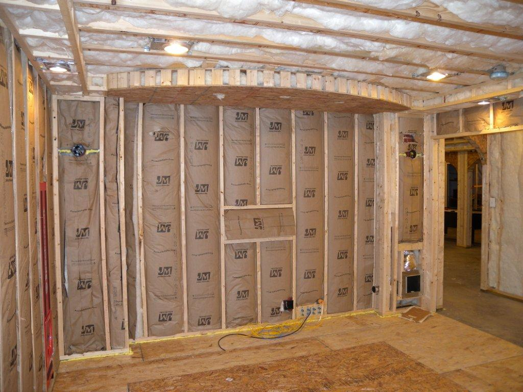 Basement soffits and how to build them for How to build a house with a basement