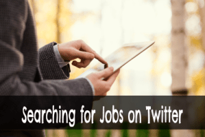 Using Twitter to Find Most Recent Job Offers