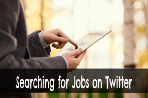 Using Twitter for Recent Job Searches via @basicblogtips