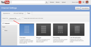 How to Add a Featured Tab to Your YouTube Channel