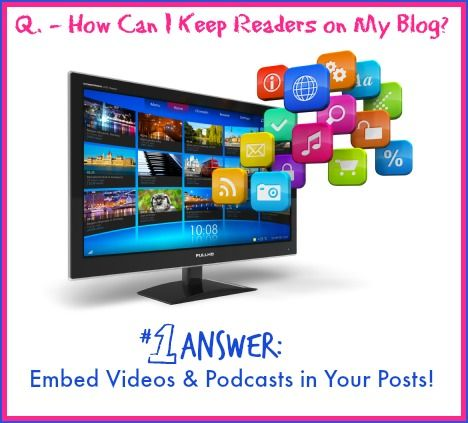 Embed Multimedia in blog posts