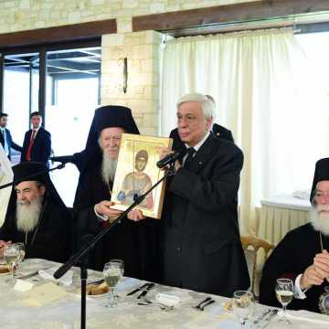 official luncheon Prokopis Pavlopoulos