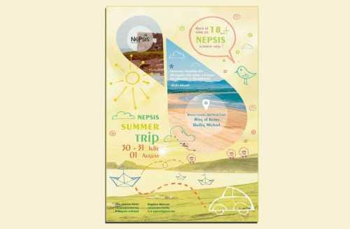 Afis Nepsis Summer Trip