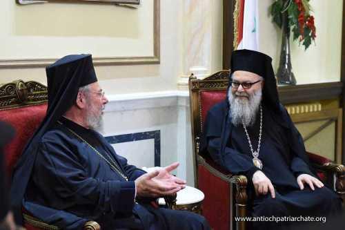 Patriarhul Ioan al Antiohiei în vizită oficială în Cipru