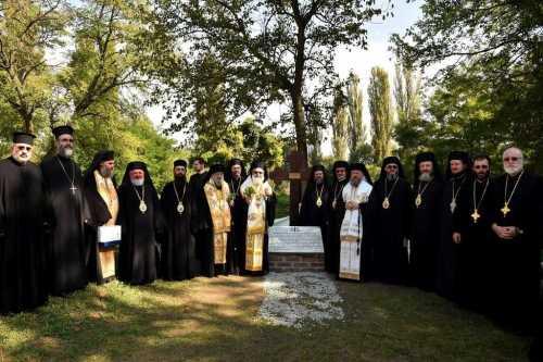 manastirea-snagov-patriarhul-antiohiei-a-asezat-piatra-de-temelie-pentru-viitorul-centru-de-protejare-si-conservare-a-patrimoniului-cultural
