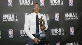 Russell Westbrook, Oklahoma City Thunder, 2017 NBA MVP