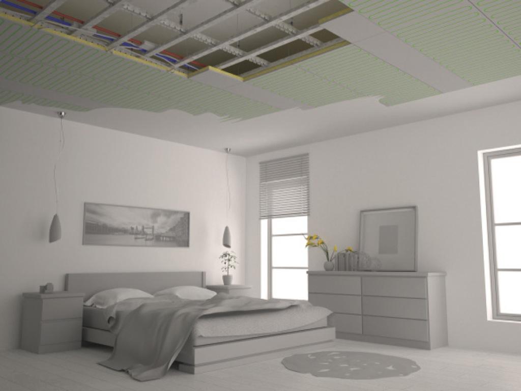 Sistema radiante a soffitto e parete b!klimax di RDZ. Benessere diffuso