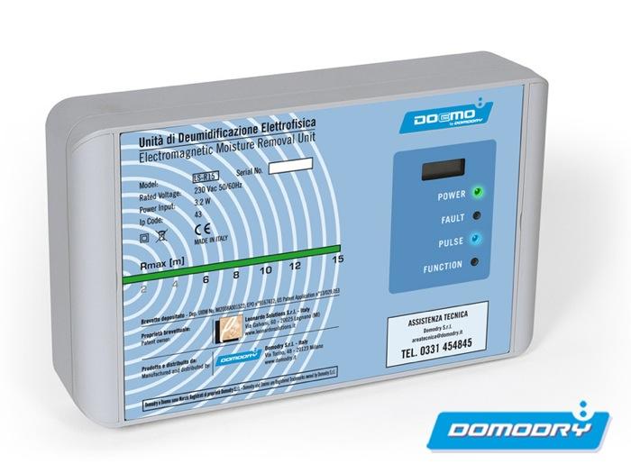 Deumidificazione a neutralizzazione di carica Domodry, la soluzione definitiva delle patologie da umidità