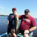 Bond over Fishing