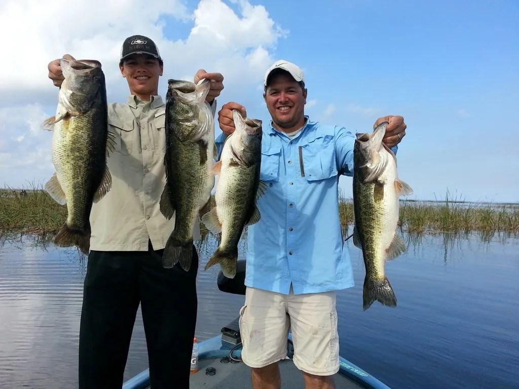 Crowe bass fishing lake okeechobee bass fishing in the for Lake acworth fishing