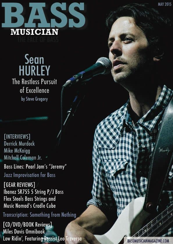Bass Musician Magazine - Sean Hurley - May 2015 Issue