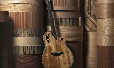 Ovation Guitar Resumes USA Production of Round Back Acoustic Electric Guitars, Basses and More