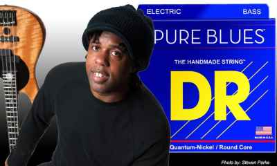 DR Strings Announces Victor Wooten Chooses PURE BLUES Bass Strings