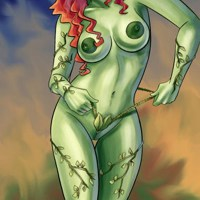 Tonight Batman will not get away - Poison Ivy is going to seduce him with her own body!