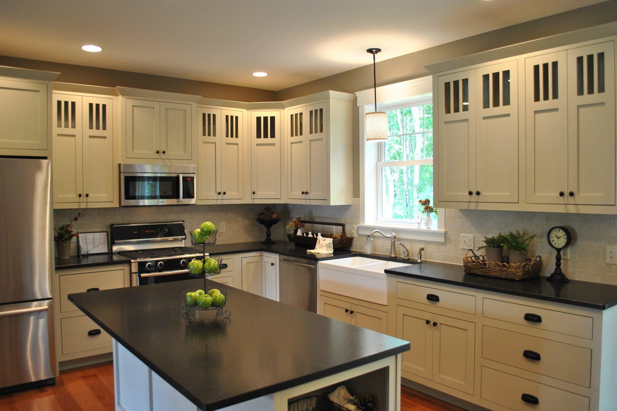 black pearl granite 2 kitchen sinks denver Black Pearl Granite
