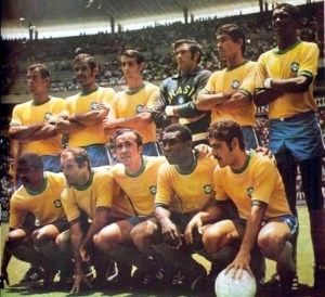 The Brazil team who won the country's third World Cup in 1970, allowing them to keep the original Jules Rimet trophy