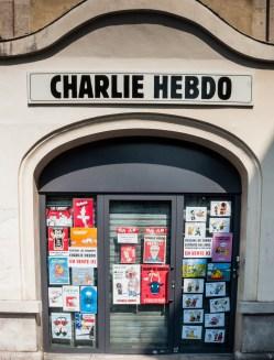Locaux de Charlie Hebdo