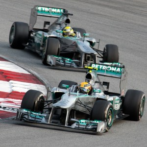 Lewis Hamilton and Nico Rosberg are expected to be competing for the title again this season