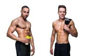 (L-R) Ben Hughes and Rob Birkhead can help your dreams become a reality with tailored training and nutrition plans just in time for the summer.