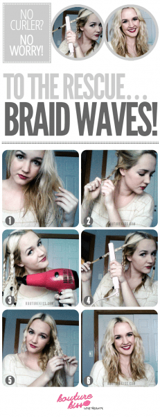 Braid-flat-iron-waves-hair-quick-style