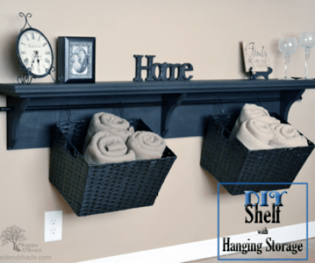 shelf with storage12