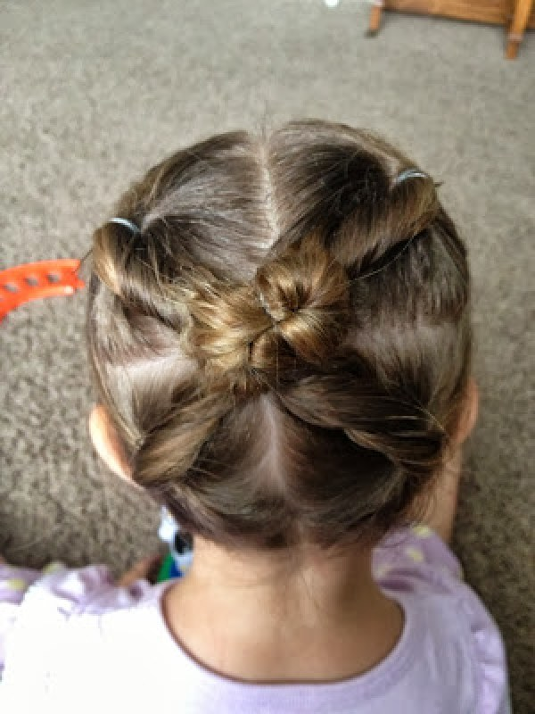 Easy Hairstyles For Little Girls With Curly Hair Cute