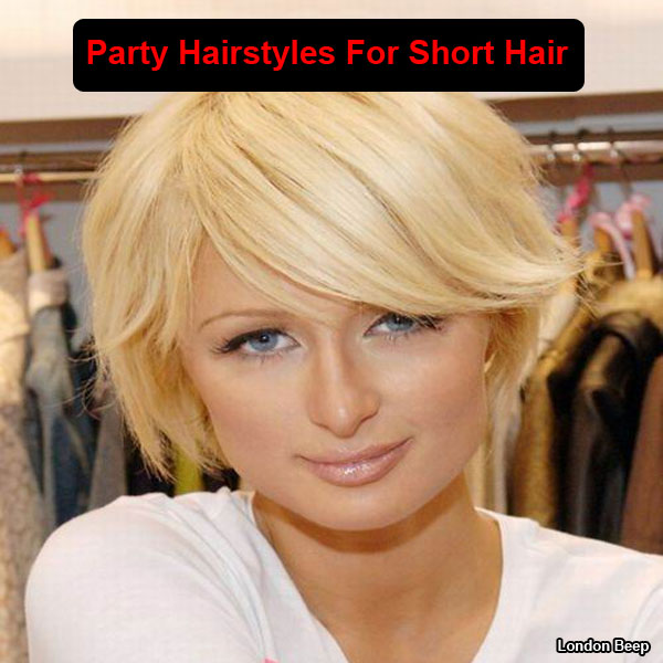 Party Jordan Hairstyles For Short Hair : Christmas Party Hair styles for SHORT Hair  Bath and Body