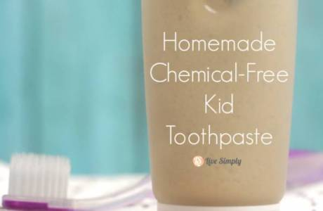 Chemical Free Children's Toothpaste You Can Make At Home