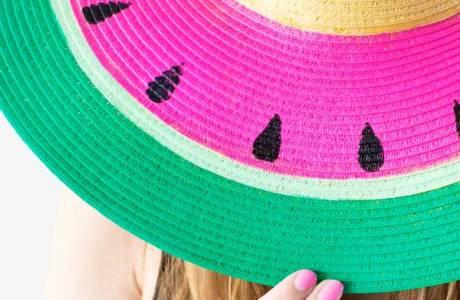 Style Me Quick  – Watermelon Sun Hat