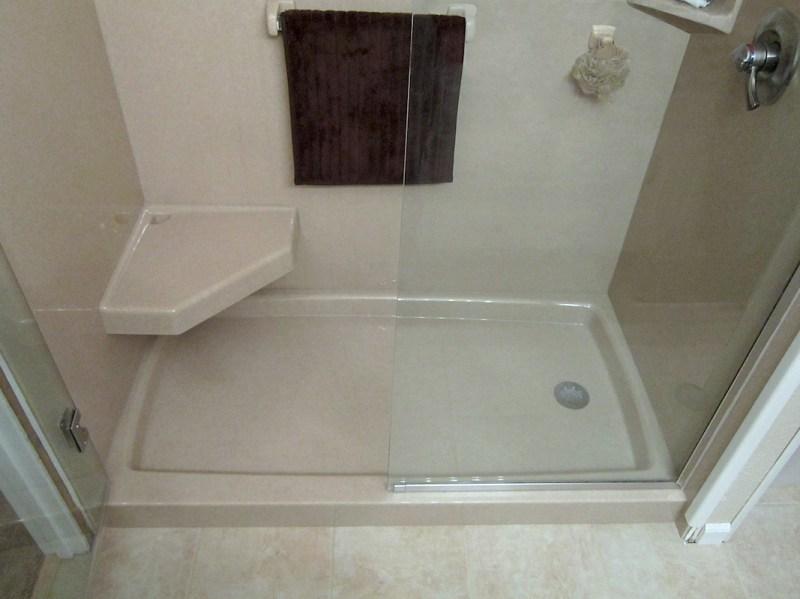 Large Of Custom Shower Pan