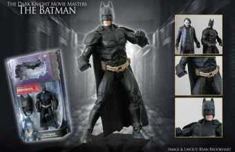 Mattel's Batman action figure from 'The Dark Knight'