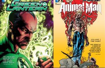 Green Lantern Vol. 1, Animal Man Vol. 1