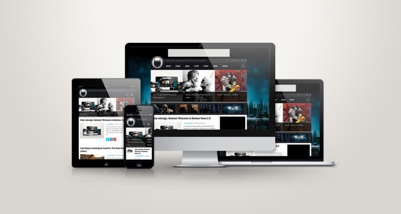 Batman-NewsResponsive-showcase-presentation