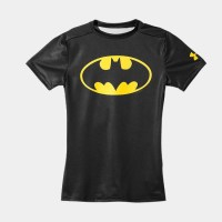 Batman Under Armour t-shirts now available in Boys sizes