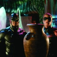 'Batman & Robin' cowl donated to Smithsonian by Warner Bros