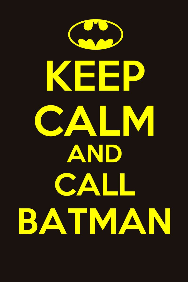 KeepCalmCallBatman