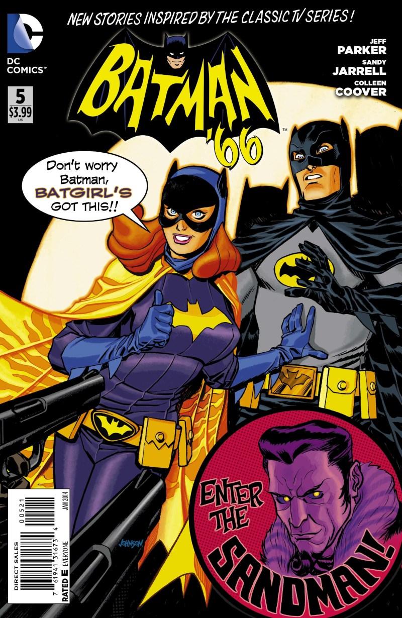 Batman 66 Variant 5 Cover FINAL